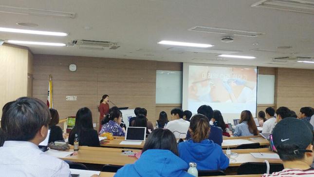 대한여자치과의사회가 지난 6월 21일 서울대 치의학대학원에서 재학생을 대상으로 '미래의, 미래의 이야기' 강연을 진행했다.