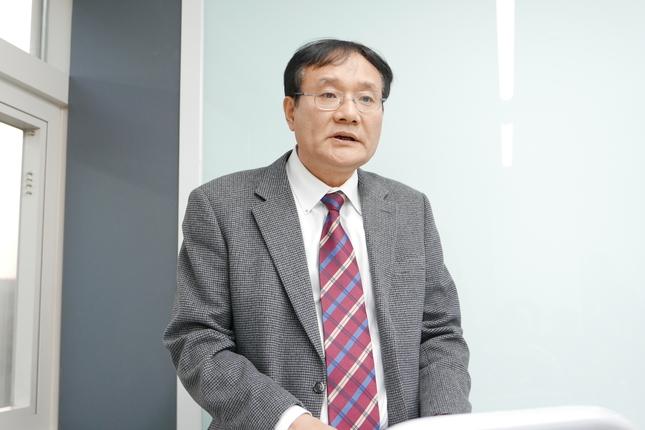 오원만 대한치과보존학회 회장.