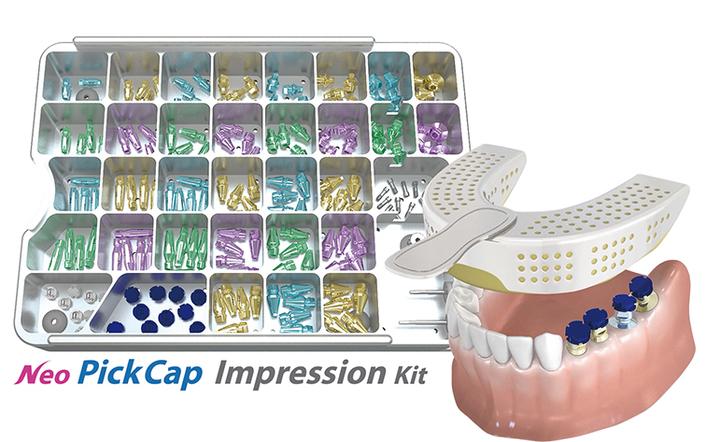 PickCap Impression Kit.<네오바이오텍 제공>