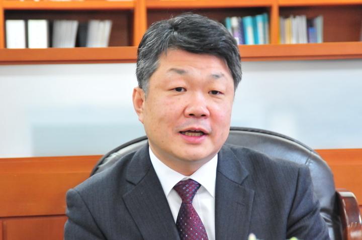 이재일 한국보건의료인평가원연합회 신임 회장.